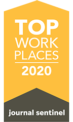 Top Work Places Milwaukee 2020